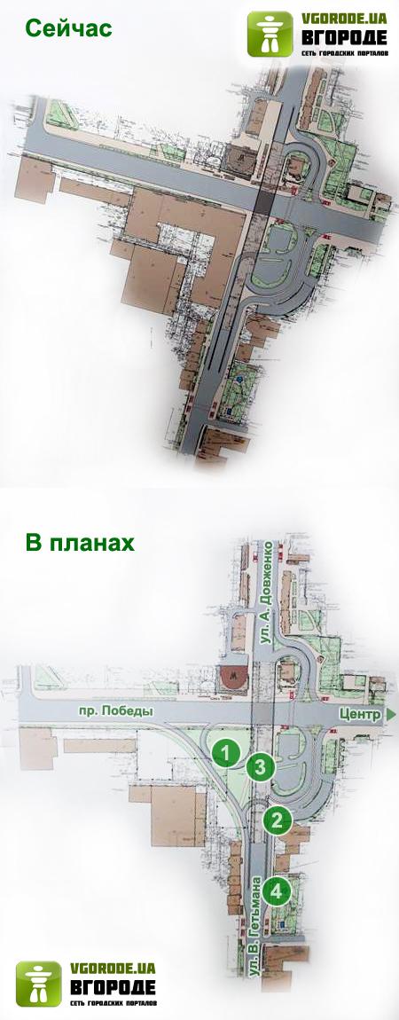 """Как будет выглядеть Шулявка: мост расширят, а """"Большевик"""" снесут фото"""